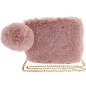 CAPELLI NEW YORK - Faux Fur Crossbody Bag